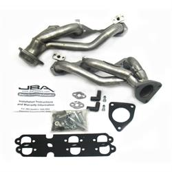 JBA PerFormance Exhaust 1842S-1 Shorty Header, SS, 99-02 Truck, 4.3L