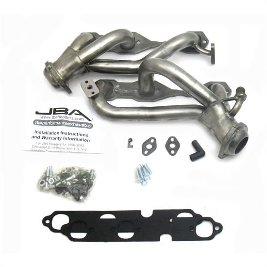 JBA PerFormance Exhaust 1842S-5 Shorty Header, 99-01 S10/Sonoma 4.3L