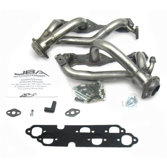 JBA PerFormance Exhaust 1842S-6 Shorty Header, 99-01 Blazer/Jimmy 4.3L