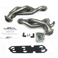 JBA PerFormance Exhaust 1842S Shorty Header SS, 96-99 GM Truck 4.3L