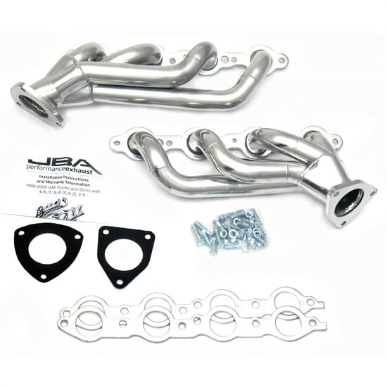JBA 1850S-3JS Shorty Header, 03-06 GM Truck/Hummer