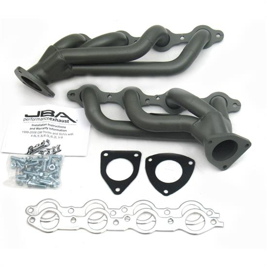 JBA PerFormance Exhaust 1850S-3JT Shorty Header, 03-06 GM Truck/Hummer
