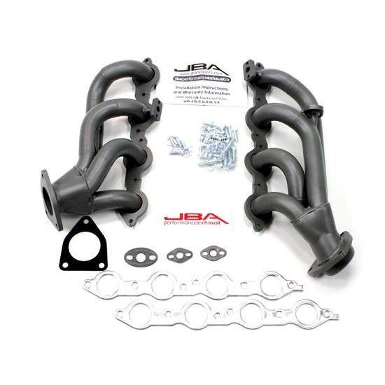 JBA 1851SJT Shorty Header, SS, 99-01 GM Truck