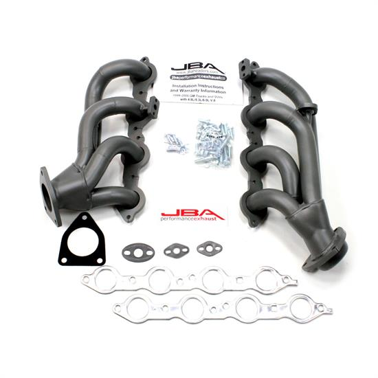 JBA PerFormance Exhaust 1851SJT Shorty Header, SS, 99-01 GM Truck
