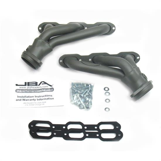JBA PerFormance Exhaust 1920SJT Shorty Header, SS, 05-10 Dodge, TC