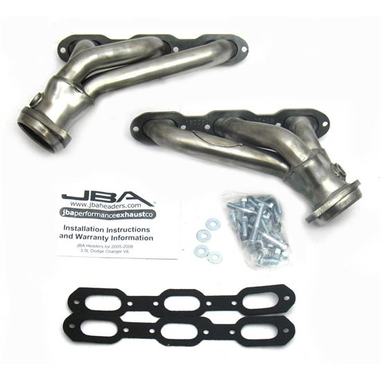 JBA PerFormance Exhaust 1920S Shorty Header, SS, 05-10 Dodge