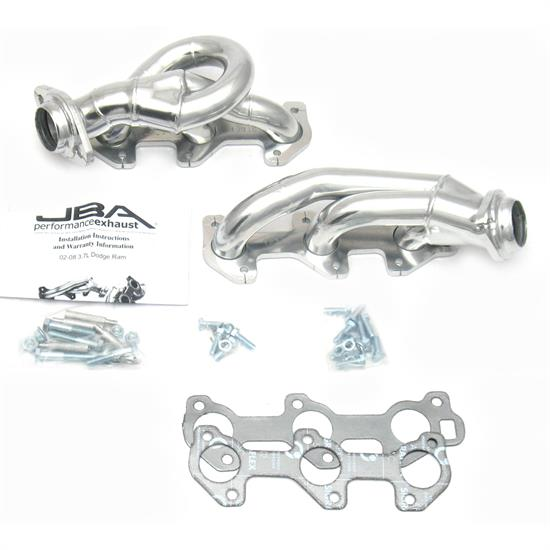 JBA PerFormance Exhaust 1931SJS Shorty Header, 02-08 Dodge Ram 3.7L