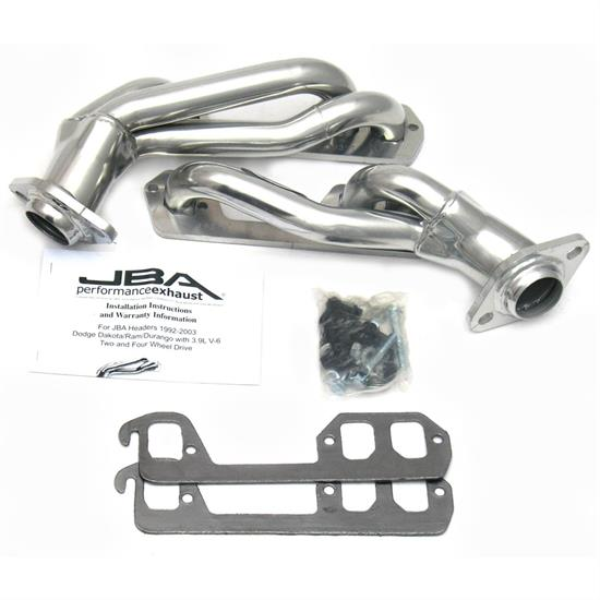 JBA 1939SJS Shorty Header, 96-02 Dodge Ram/Dakota