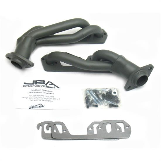 JBA PerFormance Exhaust 1939SJT Shorty Header, 96-02 Dodge Ram/Dakota