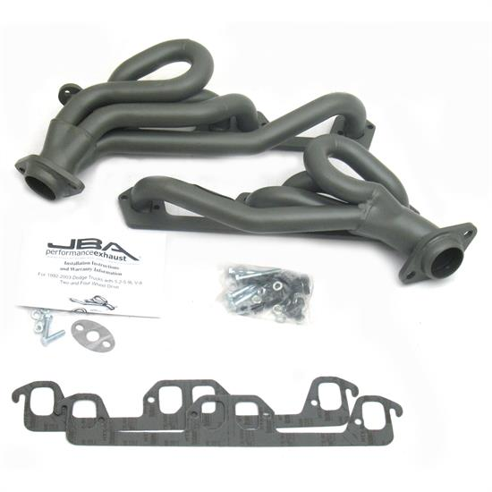 JBA PerFormance Exhaust 1940S-1JT Shorty Header, 92-95 Ram/Dakota