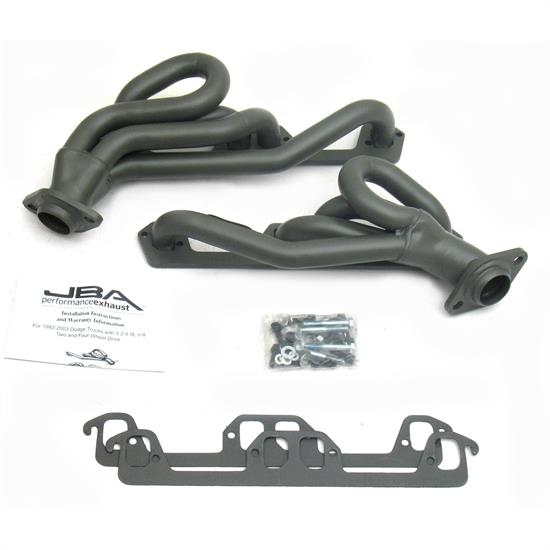 JBA 1945S-1JT Shorty Header, SS, 96-02 Dodge, TC