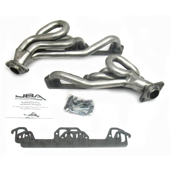 JBA PerFormance Exhaust 1945S-1 Shorty Header, SS, 96-02 Dodge