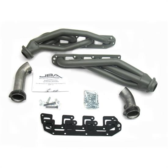 JBA PerFormance Exhaust 1962SJT Shorty Header, SS, 04-08 Hemi Durango