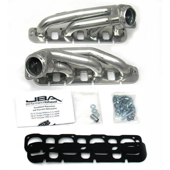 JBA PerFormance Exhaust 1964S-1JS Shorty Header, SS, 08-14 Challenger