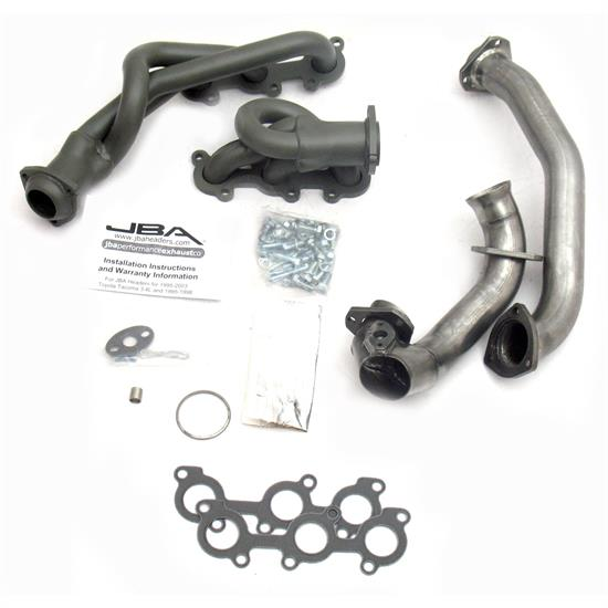 JBA PerFormance Exhaust 2032SJT Shorty Header, SS, 01-04 Tacoma, TC