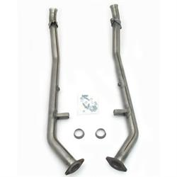 JBA PerFormance Exhaust 2809SY SS Mid-Pipe, 04 GTO W/O Cats, 2.50 Inch