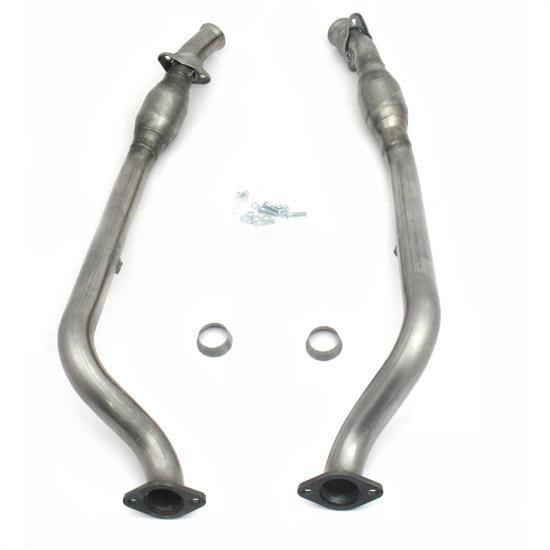 JBA PerFormance Exhaust 2810SYC  SS Mid-Pipe, 05-06 GTO W/Cats, 2.5 In