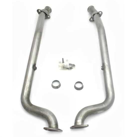 JBA PerFormance Exhaust 2810SY SS Mid-Pipe, 05-06 GTO W/O Cats, 2.5 In