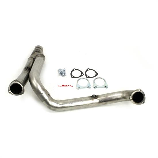 JBA PerFormance Exhaust 36963SY SS Mid-Pipe, 09-14 Dodge W/O cats
