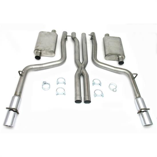 JBA PerFormance Exhaust 40-1600 SS Exhaust System, 05-10 Dodge