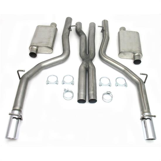 JBA PerFormance Exhaust 40-1601 SS Exhaust System, 06-14 Dodge