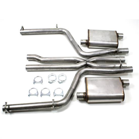 JBA PerFormance Exhaust 40-1602 SS Exhaust System, 2011-14 Dodge