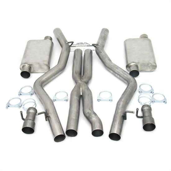 JBA PerFormance Exhaust 40-1665 SS Exhaust System, 08-14 Dodge