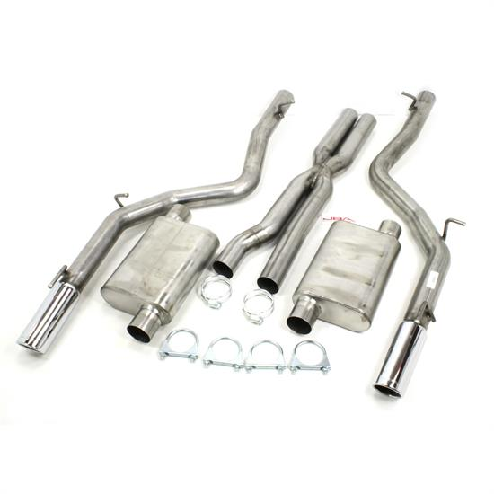 JBA PerFormance Exhaust 40-1667 SS Exhaust System, 12-14 Chrysler