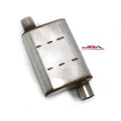 JBA Headers 40-251300 Chambered Style Muffler, 2-1/2 Inch