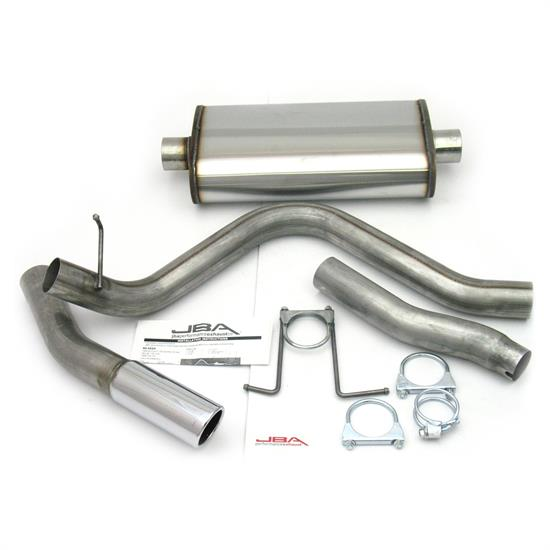 JBA PerFormance Exhaust 40-2522 SS Exhaust System, 98-03 F-150