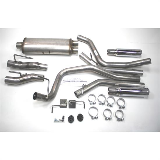 JBA PerFormance Exhaust 40-2538 SS Exhaust System, 09-13 Ford F-150