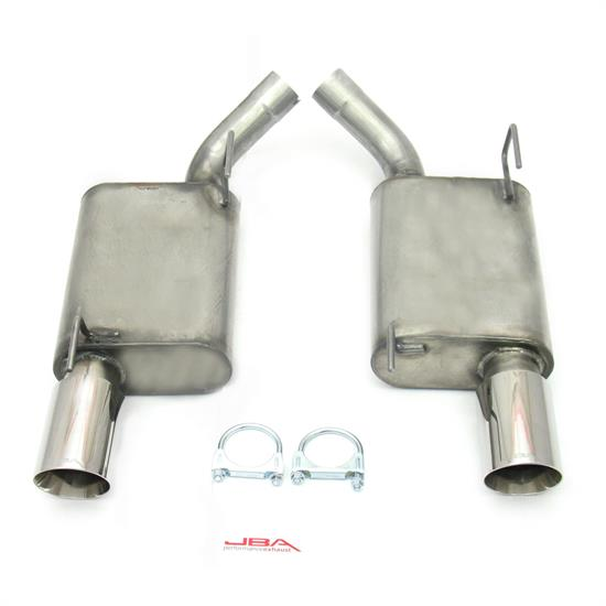 JBA PerFormance Exhaust 40-2629 SS Exhaust System, 05-10 Mustang GT