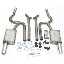 JBA PerFormance Exhaust 40-2631 SS Exhaust System, 05-10 Mustang V6