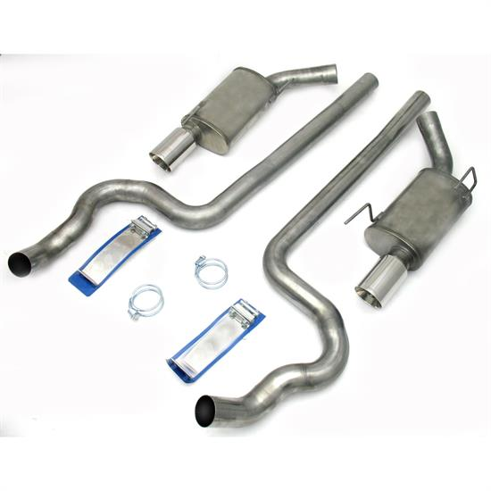 JBA PerFormance Exhaust 40-2640 SS Exhaust System, 05-09 Mustang GT 3