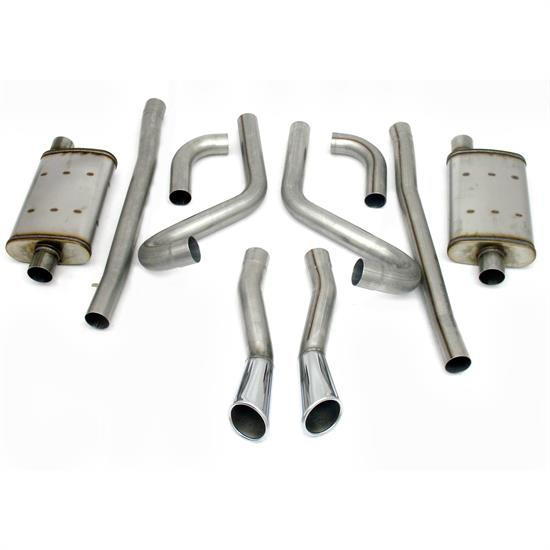 JBA PerFormance Exhaust 40-2653 SS Exhaust System, 65-66 Mustang GT