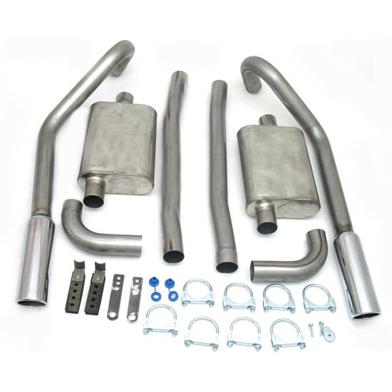 JBA PerFormance Exhaust 40-2654 SS Exhaust System, 67-70 Mustang