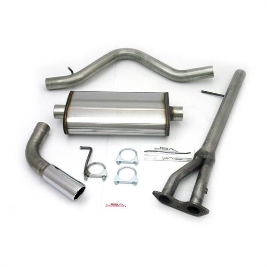JBA PerFormance Exhaust 40-3001 SS Exhaust System, 96-00 GM C/K