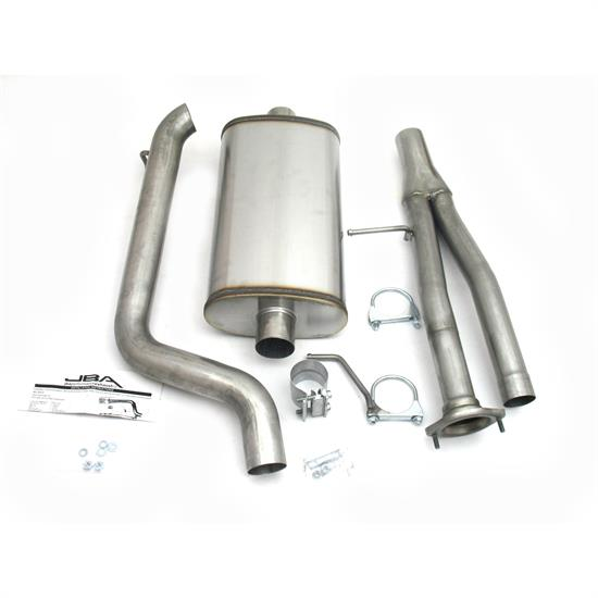 JBA PerFormance Exhaust 40-3023 SS Exhaust System, 03-06 H2 Hummer