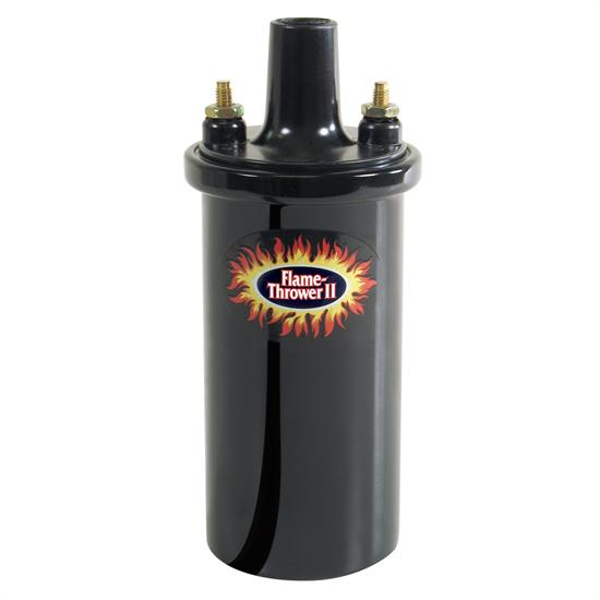 PerTronix 45111 Flame-Thrower II Coil, 45,000 Volt, 0.6 Ohm, Black