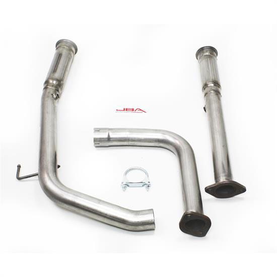 JBA PerFormance Exhaust 6012SD-1 SS Mid-Pipes, 2007-09 Toyota 5.7L