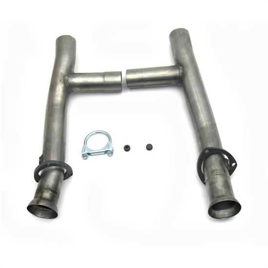 JBA PerFormance Exhaust 6654SH SS Mid-Pipe H-Pipe, 390/427