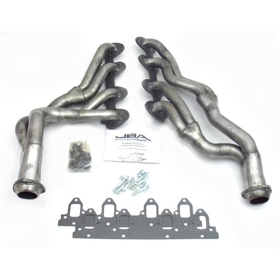 JBA 6655S Long Tube Header, SS, 67-70 Mustang