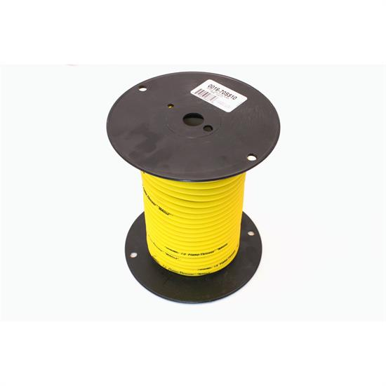 PerTronix 70S510 Flame-Thrower Spark Plug Wire 7mm Yellow 100 Ft Spool