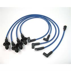 PerTronix 804303 Flame-Thrower Spark Plug Wires, 4 Cyl, 8mm VW, Blue
