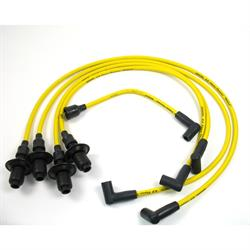 PerTronix 804505 Flame-Thrower Spark Plug Wires, 4 Cyl, 8mm VW, Yellow