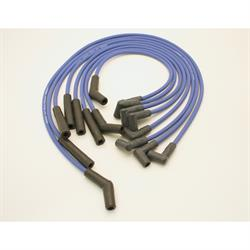 PerTronix 808302 Flame-Thrower Spark Plug Wires, 8 Cyl, GM HEI, Blue
