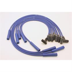 PerTronix 808305 Flame-Thrower Spark Plug Wires, 8 Cyl, GM HEI, Blue