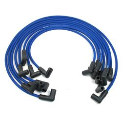 PerTronix 808311 Flame-Thrower Spark Plug Wires, 8 Cyl, GM HEI, Blue