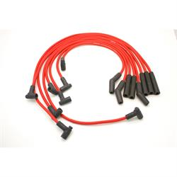PerTronix 808403 Flame-Thrower Spark Plug Wires, 8 Cyl, GM HEI, Red