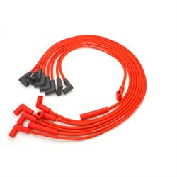 PerTronix 808409 Flame-Thrower Spark Plug Wires, 8 Cyl, GM HEI, Red